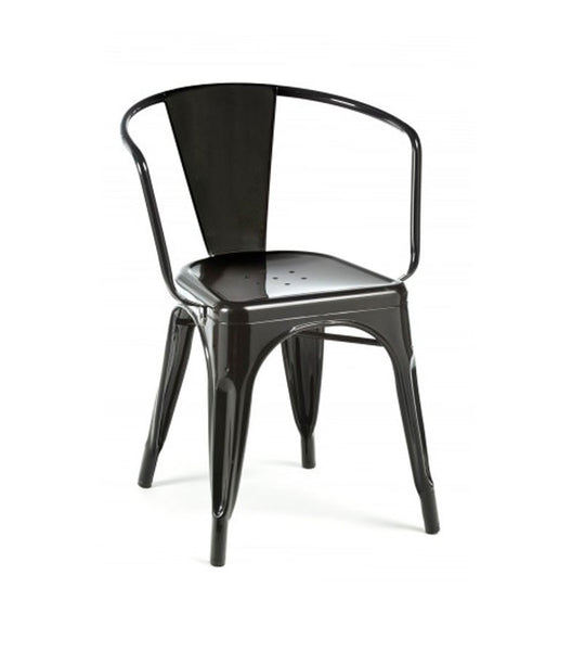 Marais arm chair - black