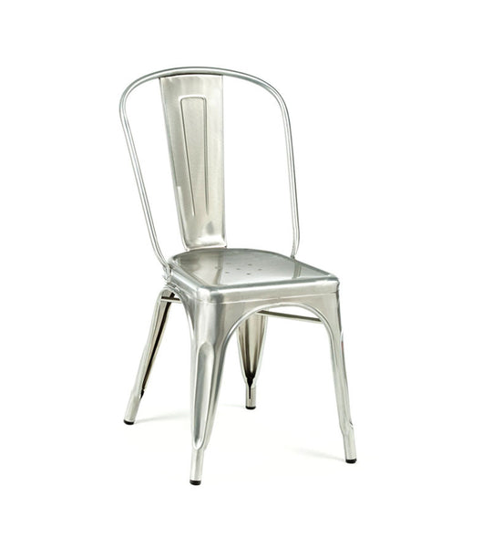 Marais side chair - galvanised