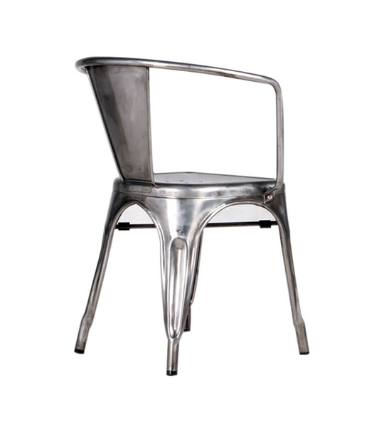Marais arm chair - galvanised