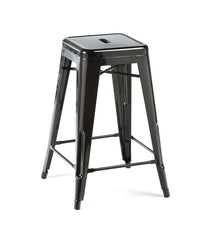 Marais bar stool - black