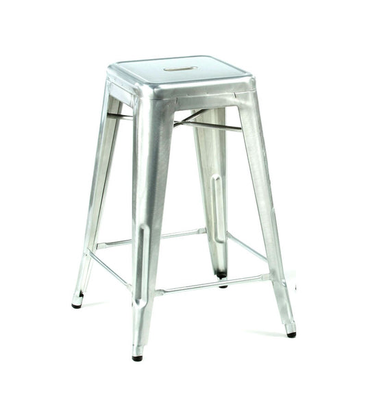 Marais bar stool - galvanised
