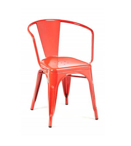 Marais arm chair - blood red
