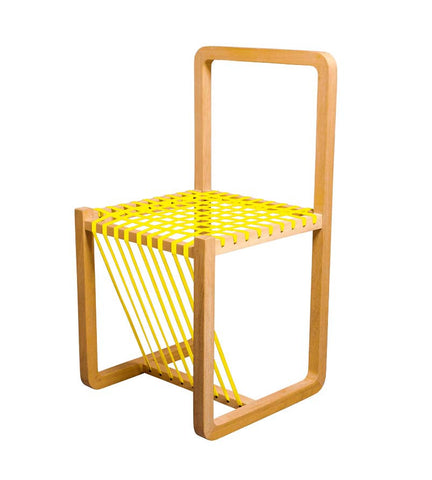 Yellow Layer Chair