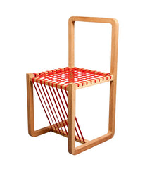 Red Layer Chair