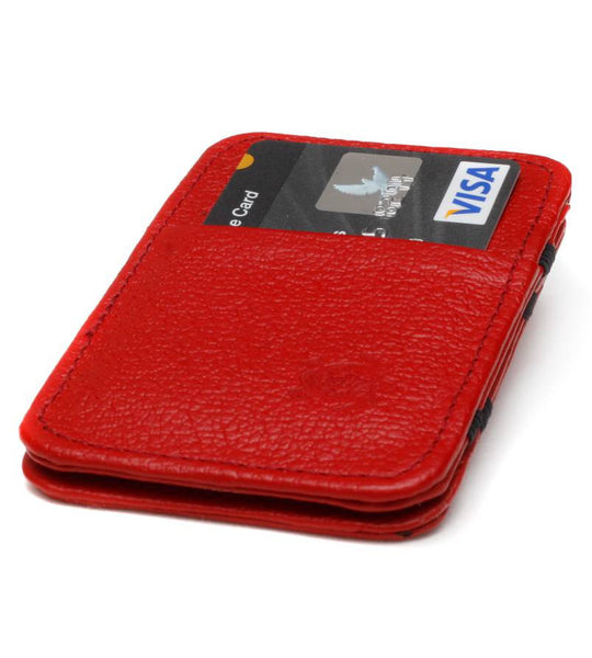 Red Cow Hide Magic Wallet