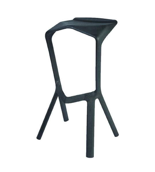 Air bar stool - black