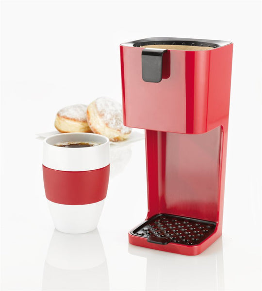 Unplugged Coffee Maker - Raspberry Red