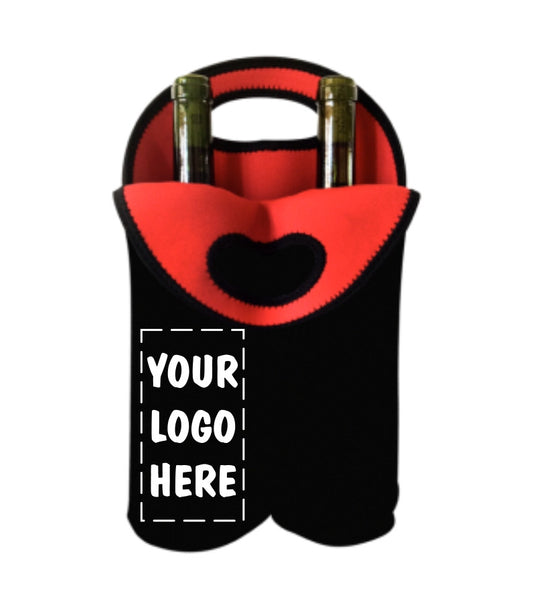 Your Logo - Wine Totes Two
