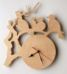 Chinoiserie Clock Birch