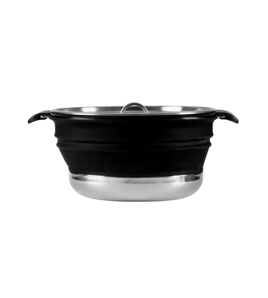 Collapsible Stew Pot Black