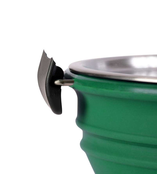 Collapsible Stew Pot Green