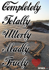MADLY IN LOVE: Uterly,madly