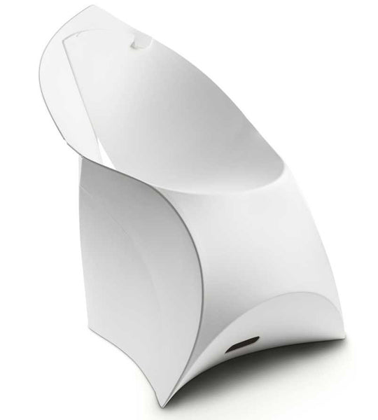 Flux chair pure white
