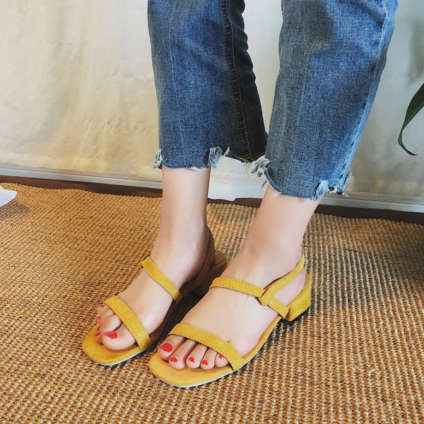 Casual Summer Flat Heel Sandals