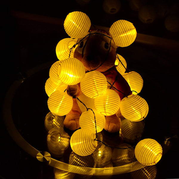 Outdoor Fairy Lantern Solar String Lights for Indoor and Outdoor Decorations