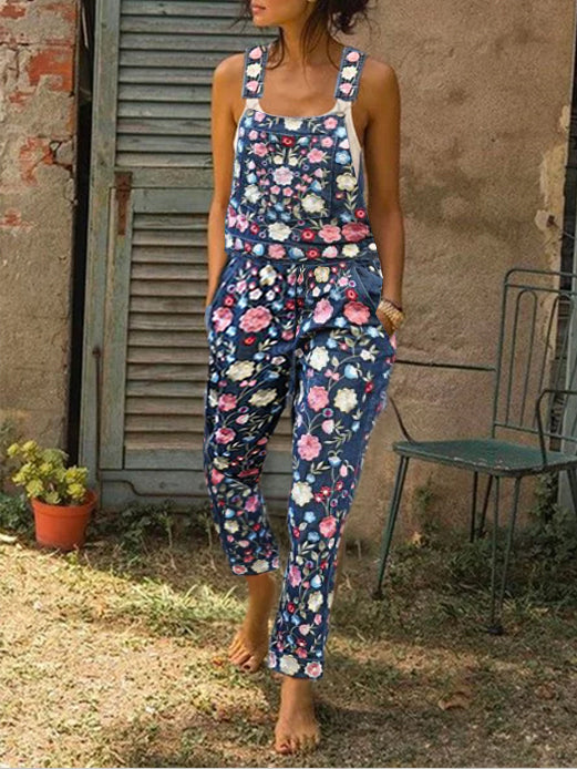 Floral Casual One-Pieces