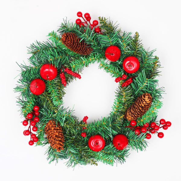 Christmas Pine Nut Door Wreath 11.8inch Home Outdoor Decor Garland