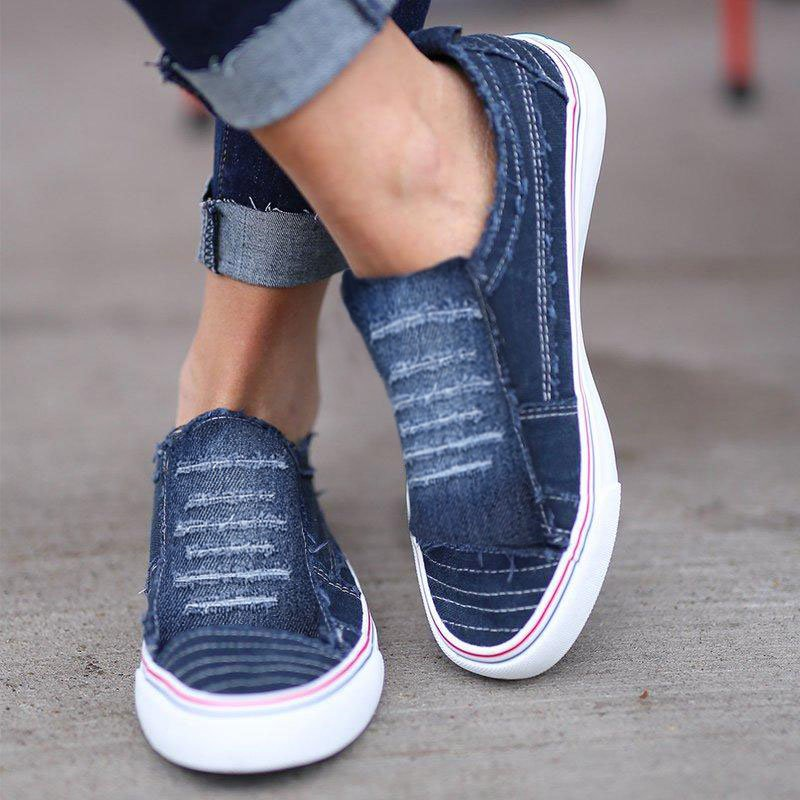Artificial Suede Casual Summer Women's Shoes