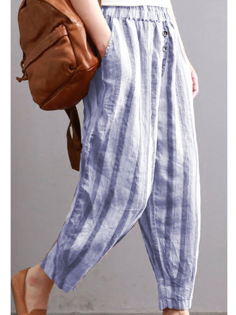 All Season Cotton-Blend Daytime Pants