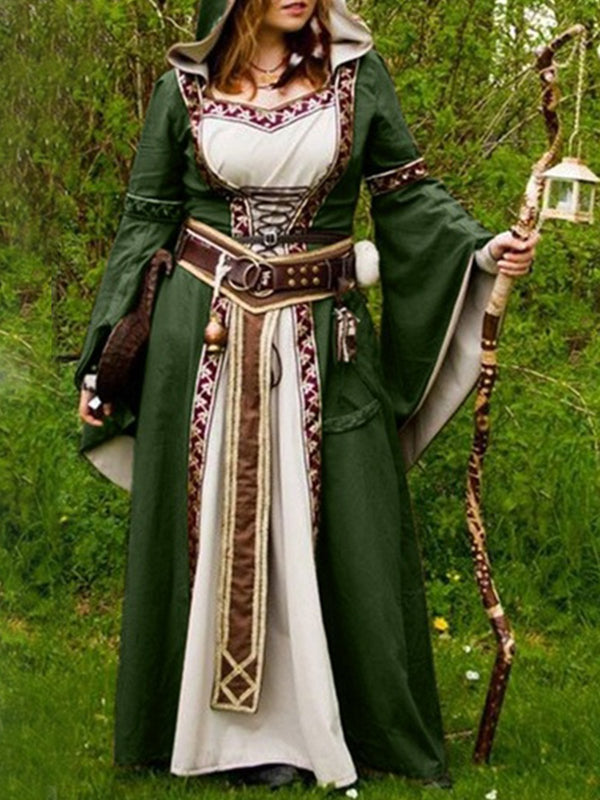 Halloween Customes 2019 Medieval costume plus size Vintage Dresses Halloween custome Plus size