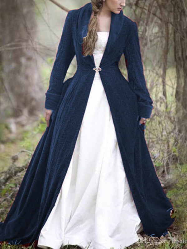 Medieval plus size Cotton Outerwear