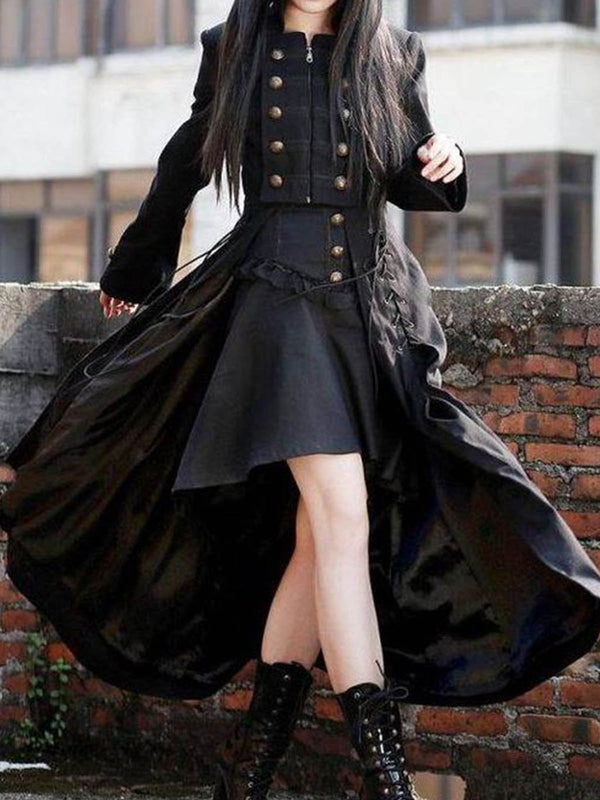 Medieval plus size Vintage Cotton Outerwear