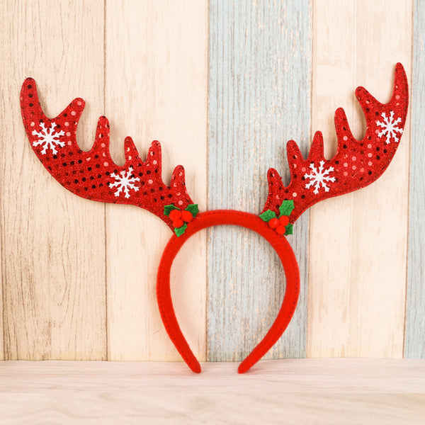 Christmas New Antler Santa Claus Headdress Christmas Decoration Original Gift