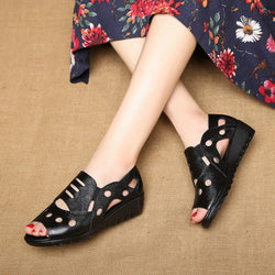 Flat soft bottom non-slip sandals
