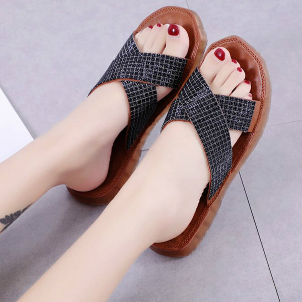 Women flat fashion slippers