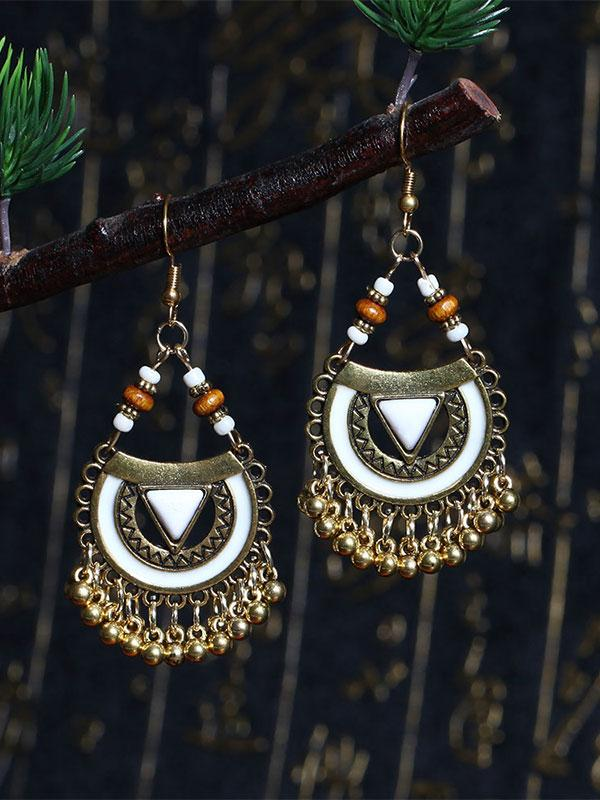 Bohemian Dangle Earrings Retro Pendant Ear Studs