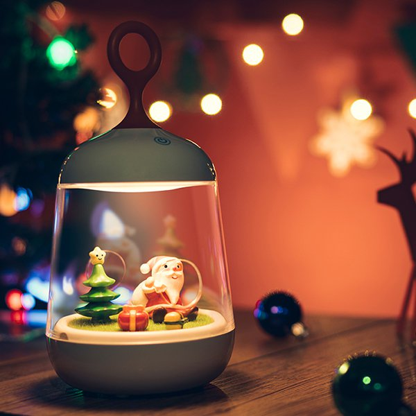Creative Christmas Micro Landscape Night Light Switch DIY Grow Light Decorative Lights lamp Gift