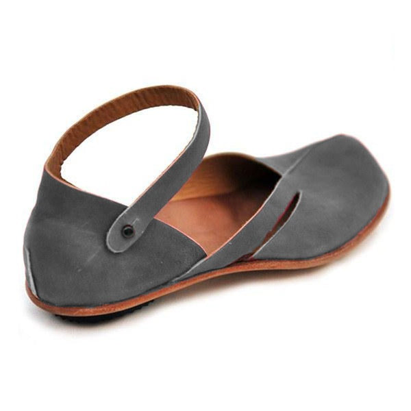 Large Size Spring/Fall Women Casual Leather Sandals