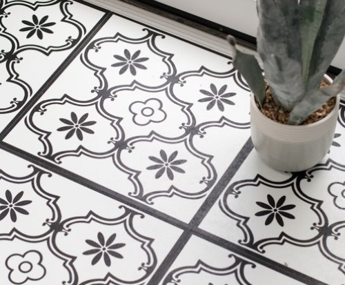 D-C FIX-floor Classic Ornament Style self-adhesive vinyl floor tiles 30.5cm x 30.5cm-F2745052