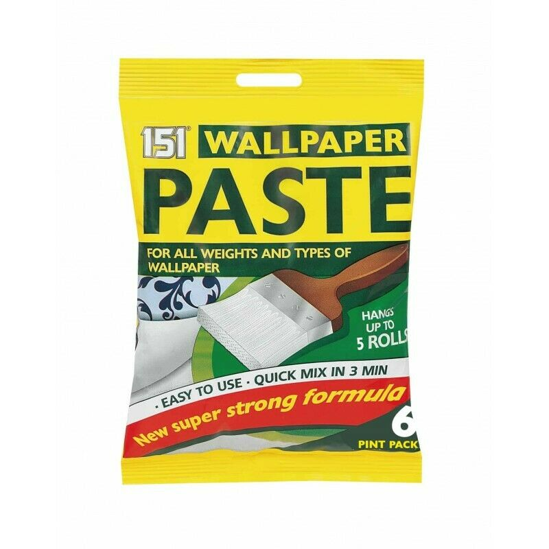 151 WALLPAPER PASTE SUPER STICK ADHESIVE WALL PAPER GLUE