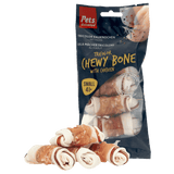 Tricolor Chewy Bone with Chicken Small (4 pcs)