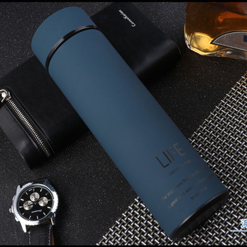 Stainless Steel Thermos Tea Vacuum Flask With Filter