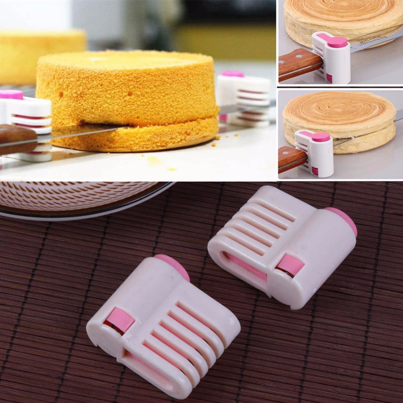 2pcs/pack 5 Layers Adjustable Bread/Cake Cutter
