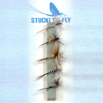 Stucki Fly Set Traditional Evergreen, 5er-Set