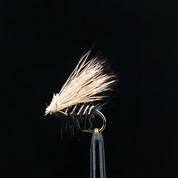 Stucki Fly ELK Hair Caddis Black, ohne Widerhaken