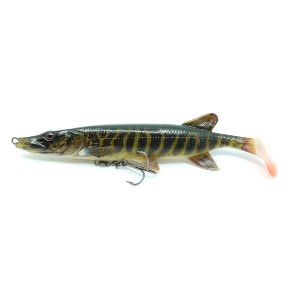 Savage Gear 4D Pike Shad 20cm Striped Pike