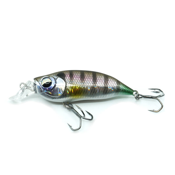 Raubfisch Bonbon Bull Wobbler 57mm, 8g, Silver-Perch