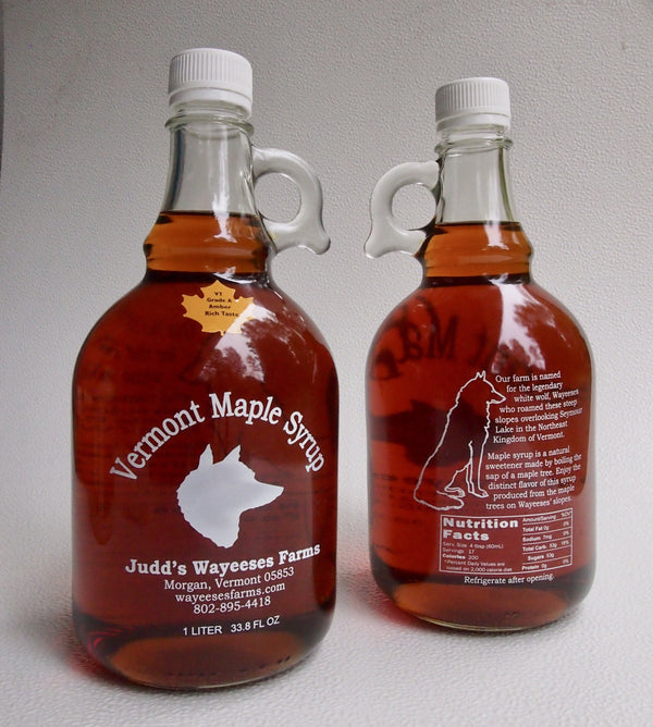 Pickup a Liter of Maple Syrup