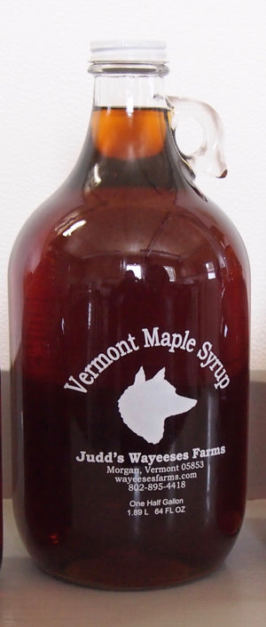 Pickup a growler of Maple Syrup
