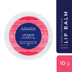 Cocoa Butter Lemon Lip Balm (Pack of 2)