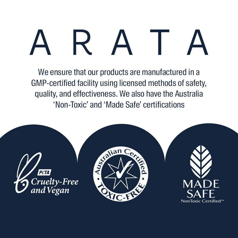Arata Nourishing Conditioner Certificates