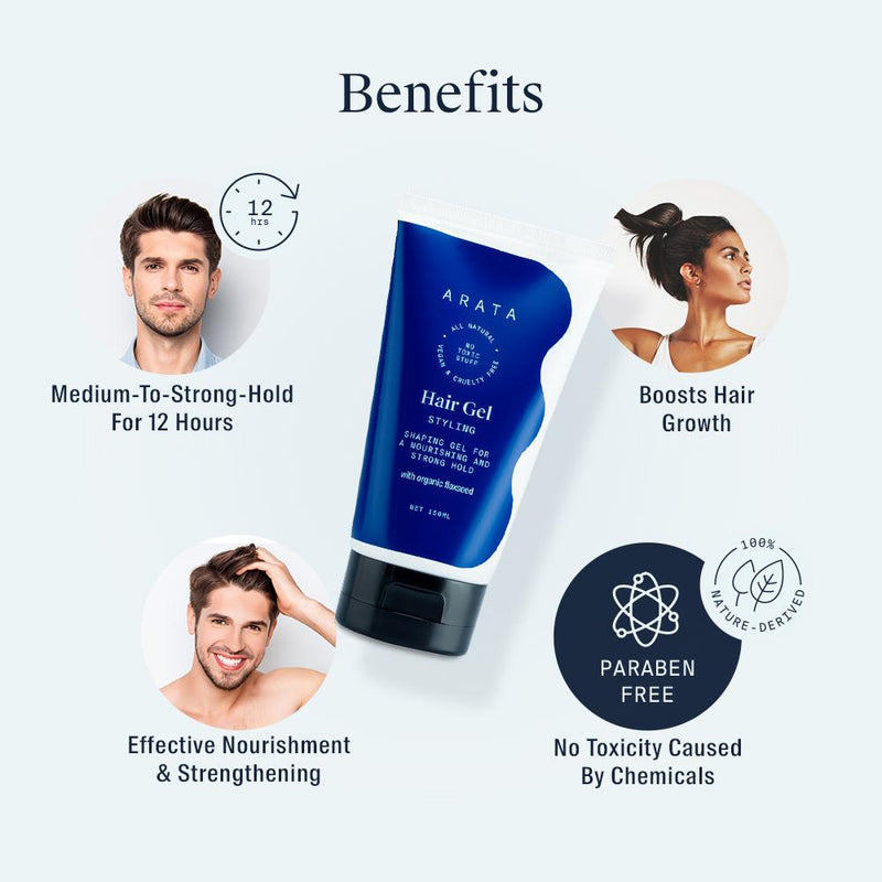 Benefits of Arata Hair Gel