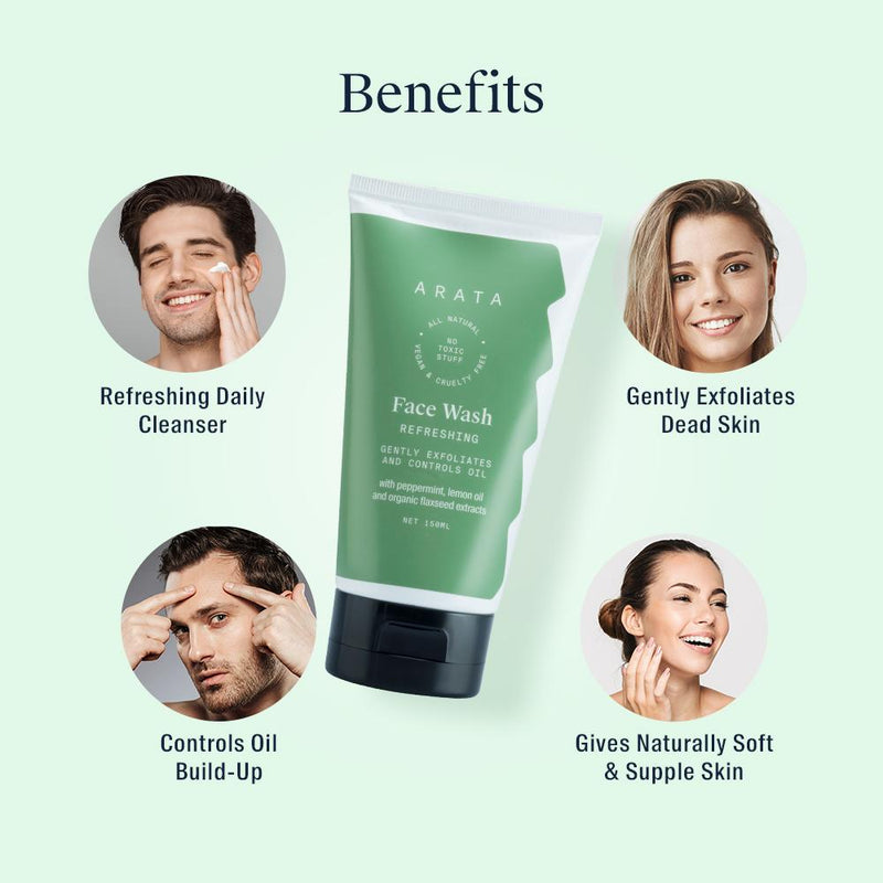 Benefits of Arata Face wash