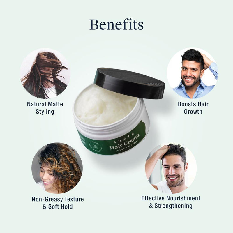 Arata Hair Cream Benefits