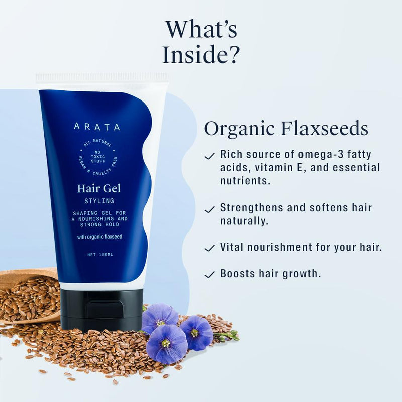 Arata Hair Styling Gel Ingredients