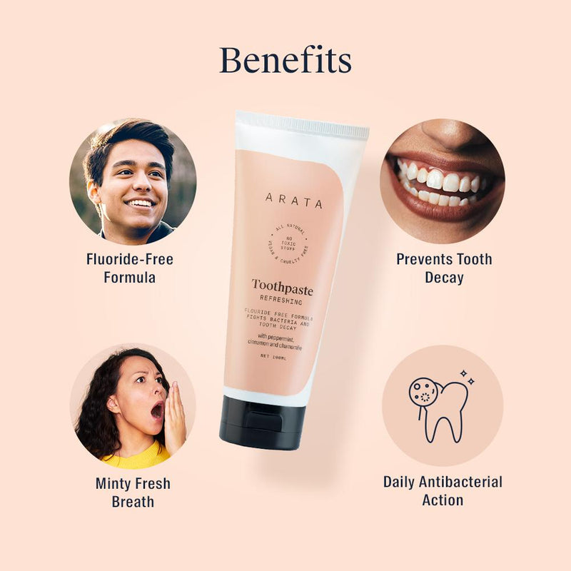 Benefits of Arata Natural Toothpaste